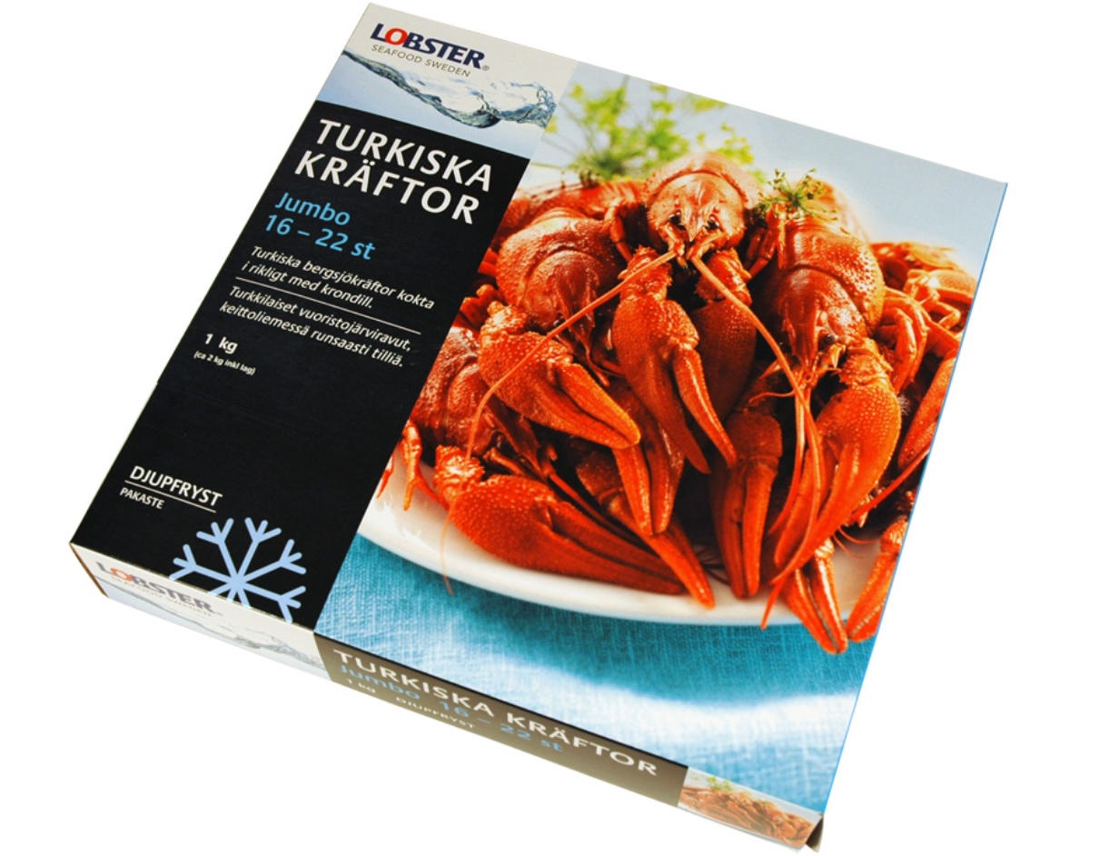 3216 lobster veziai
